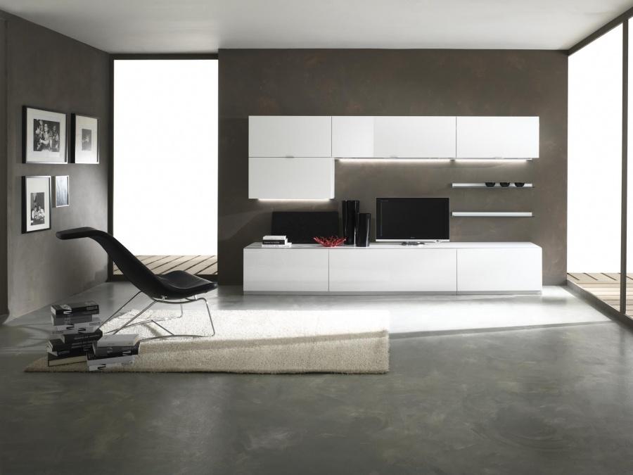 Living mobili trendy perlini mobili modern design pesaro for Mobili living moderni