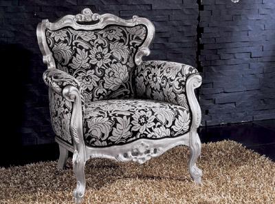 Poltrone Stile Barocco Moderno. Stunning Poltrona Imbottita In Pelle ...