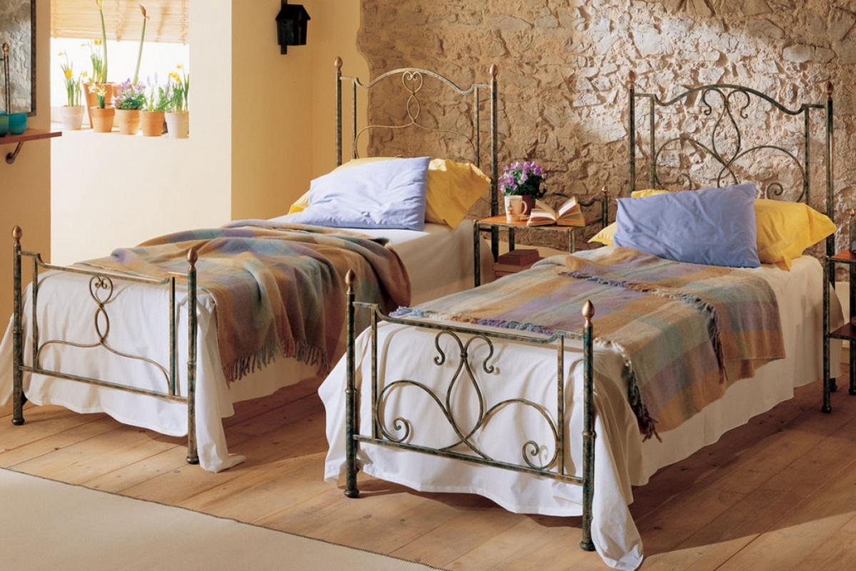 Letti In Ferro Vintage : Wrought iron single beds dane mobili